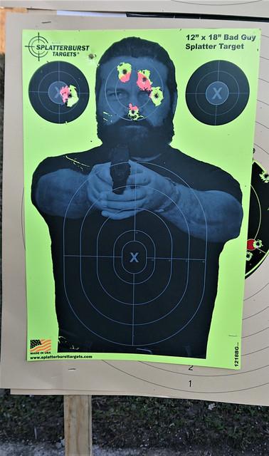 25 metrov, revolver