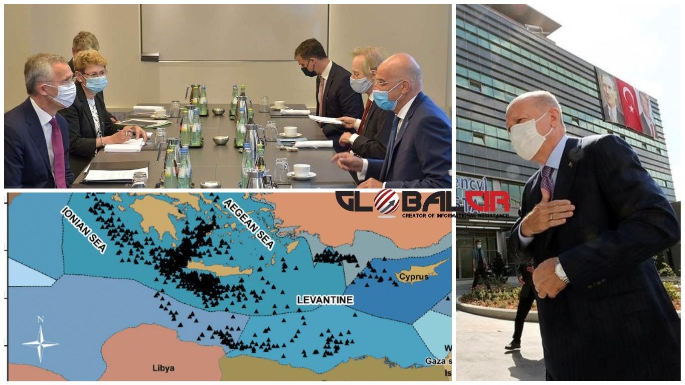 DENIDAS I STOLTENBERG O SITUACIJI U ISTOČNOM MEDITERANU! Erdogan: Turska je  sposobna da odbaci sve nemoralne mape koje joj se nameću za istočni  Mediteran - GlobalCir
