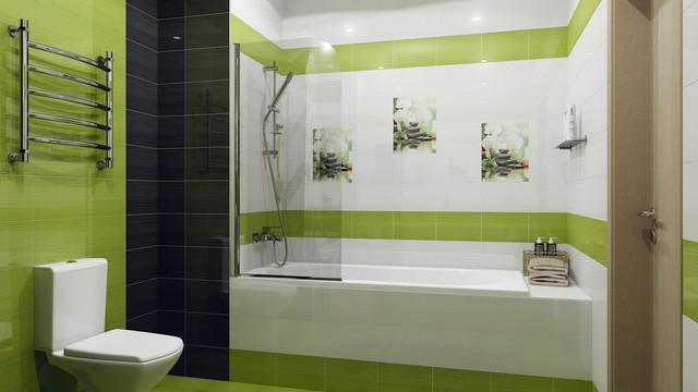 Размер плитки для ванны