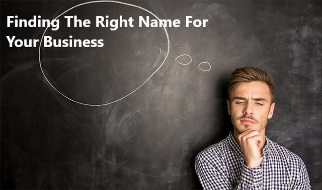 Finding The Right Name For Your Business