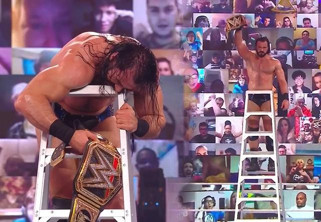 Drew McIntyre descuelga el Campeonato de WWE vence a AJ Styles The Miz