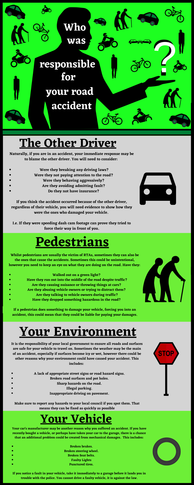 road traffic accident types