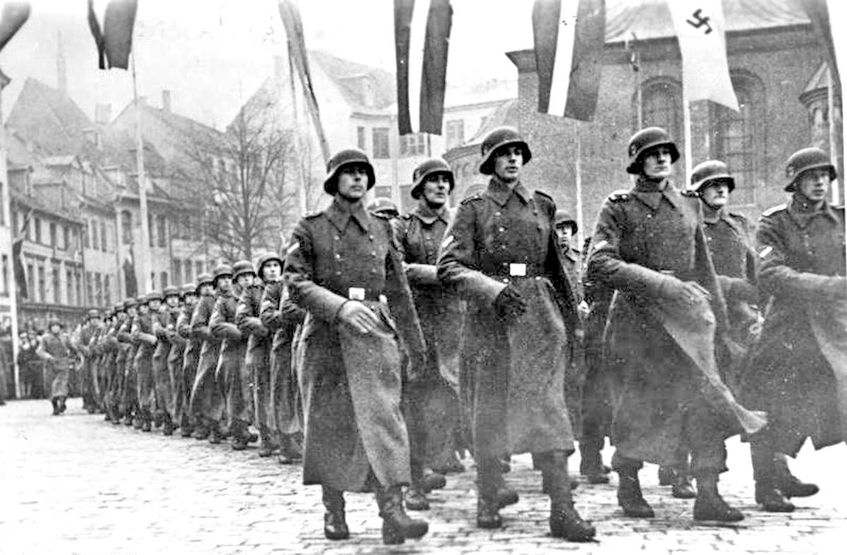 Latvian SS Volunteer Division, Riga, 1943