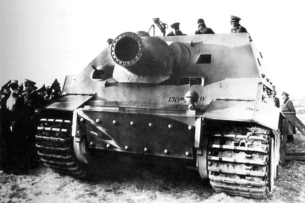 38 cm Panzermörser Sturmtiger Ausf.E