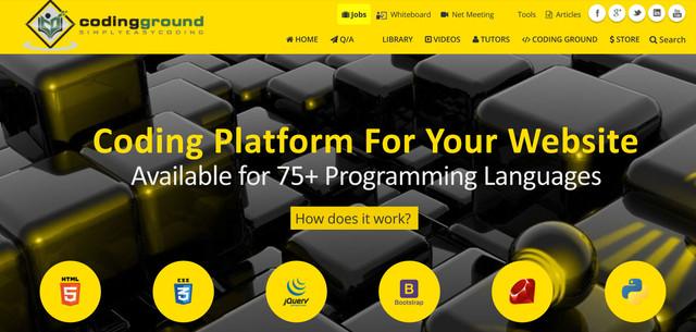 TutorialPoint website