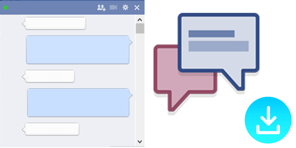 How to Send Email Facebook Chat Conversation