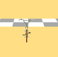 Problema na rotação da Bicicleta A1