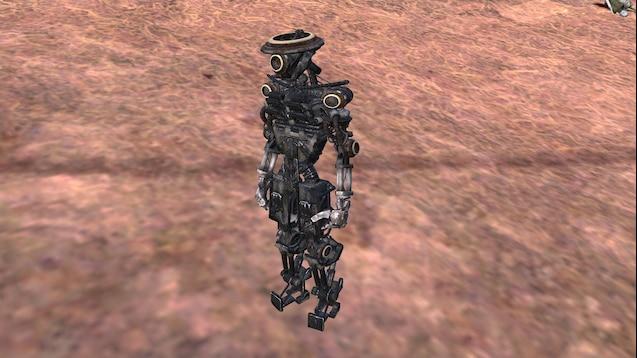 Skeleton ILA-M / Скелет ILA-M (RU)
