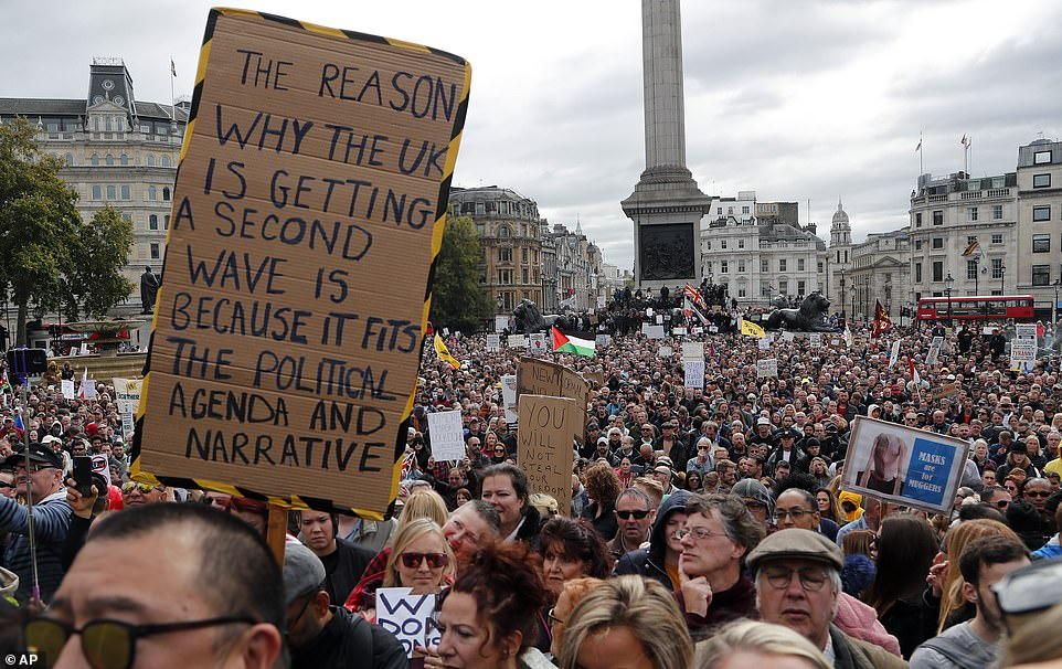 Protests in UK