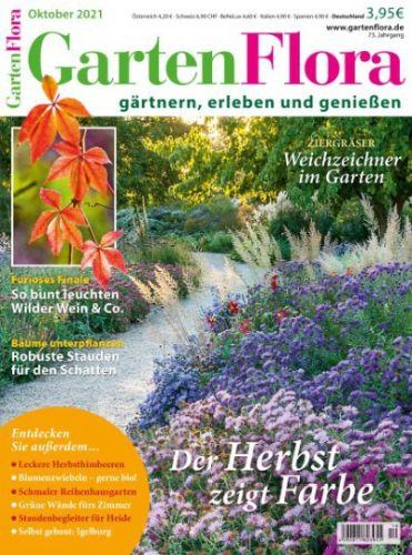 Cover: Garten Flora Magazin No 10 Oktober 2021