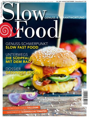 Cover: Slow Food Magazin No 04 August-September 2021