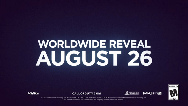 《決勝時刻 黑色行動 冷戰》正式發表,將於8月26日舉行遊戲的發佈活動。 Image