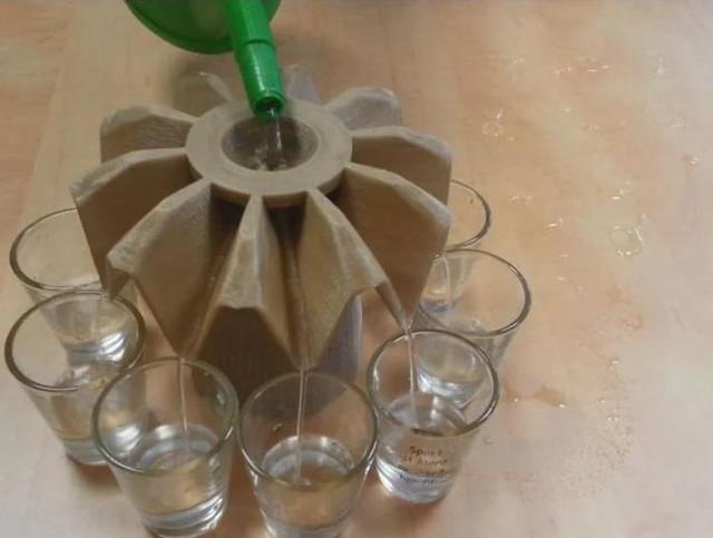 A 10 Way Liquid Dispenser - Cool Things to 3D Print