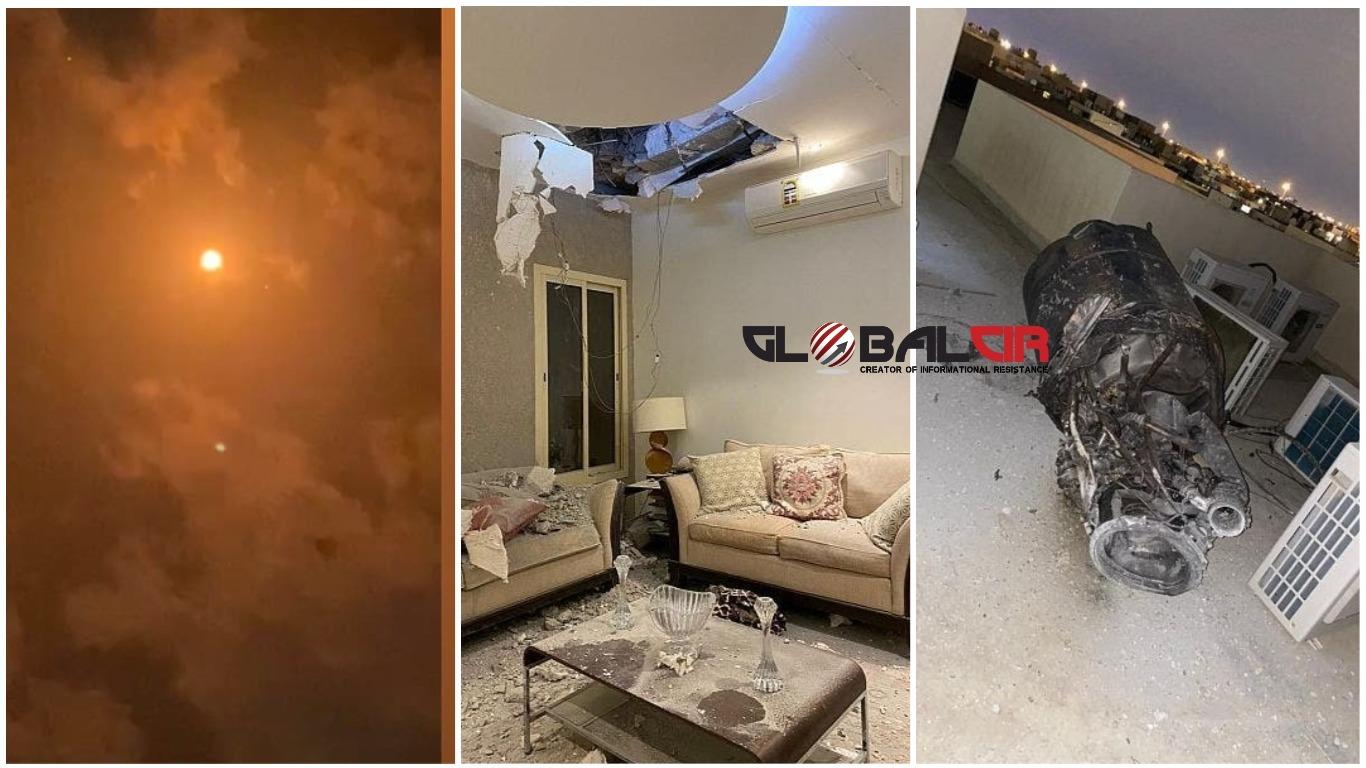 (FOTO/VIDEO) NASTAVLJENI TERORISTIČKI NAPADI NA SAUDIJSKU ARABIJU: Arapska koalicija presrela balističku raketu ispaljenu iz Jemena koja je ciljala Rijad, uništeno i šest dronova napunjenih eksplozivom!
