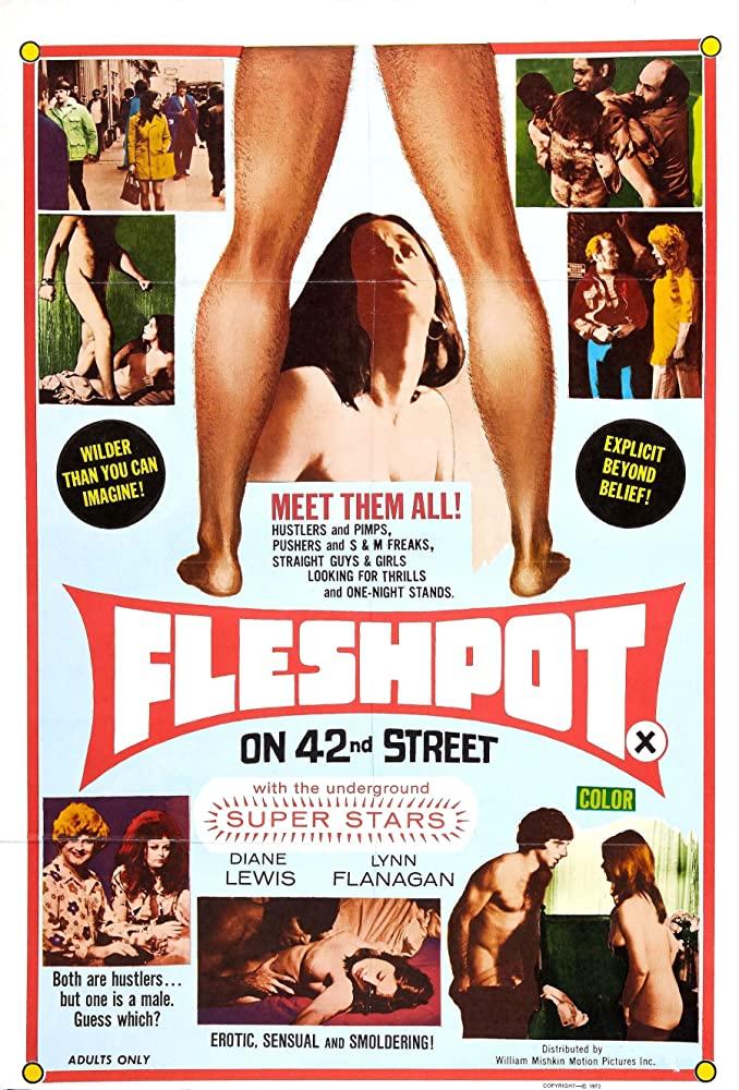 18+ Fleshpot on 42nd Street 1973 English 720p BluRay 800MB   300MB Download