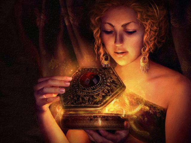 General 2800x2100 Pandora Greek fantasy art fantasy girl women artwork