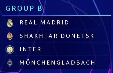 Champions League 2020/21   Group B Girobi