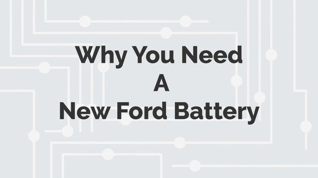 You can typically expect your Ford battery to last five years or so once it's fitted. These batteries are durable, but they're not entirely invincible. So how do you know if it's time to buy a new battery?  Click Here: https://oriusbatteries.com/ford-battery.html