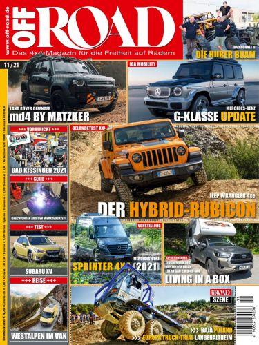 Cover: Off Road Automagazin No 11 2021