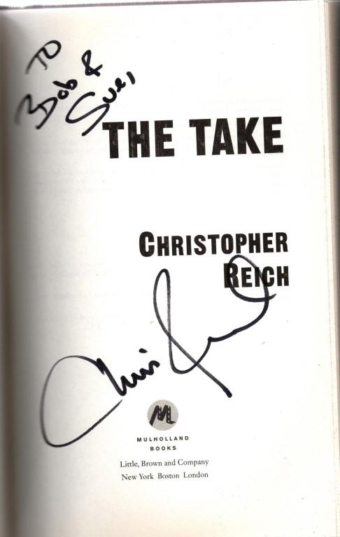 The Take (Simon Riske), Reich, Christopher
