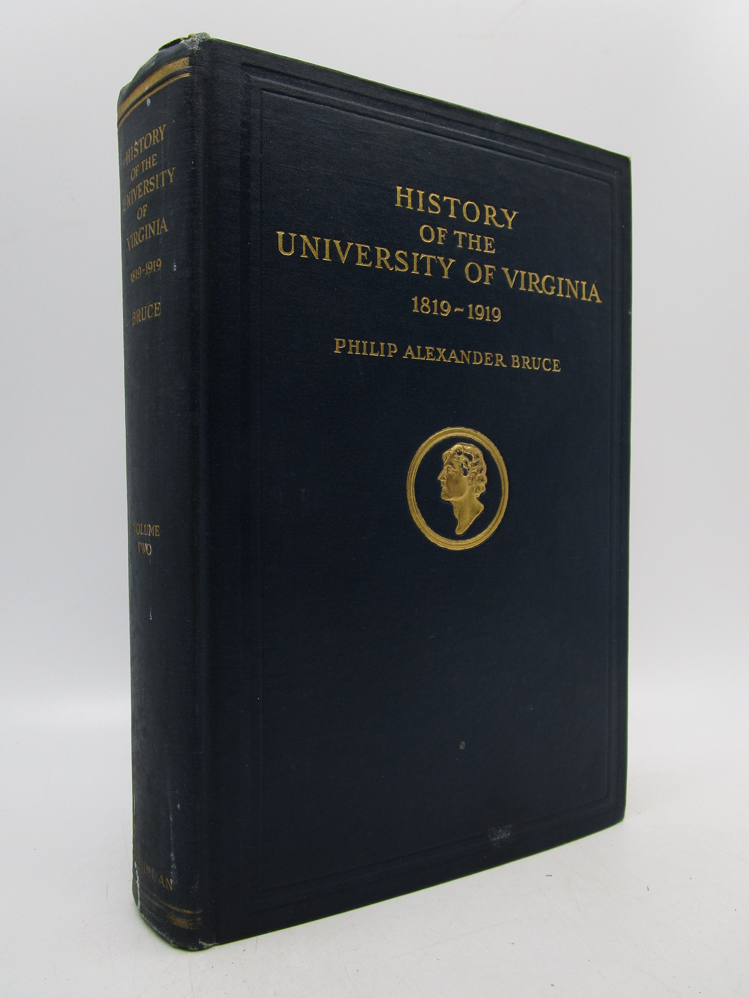 Image for History of the University of Virginia (1819-1919): The Lengthened Shadow of One Man