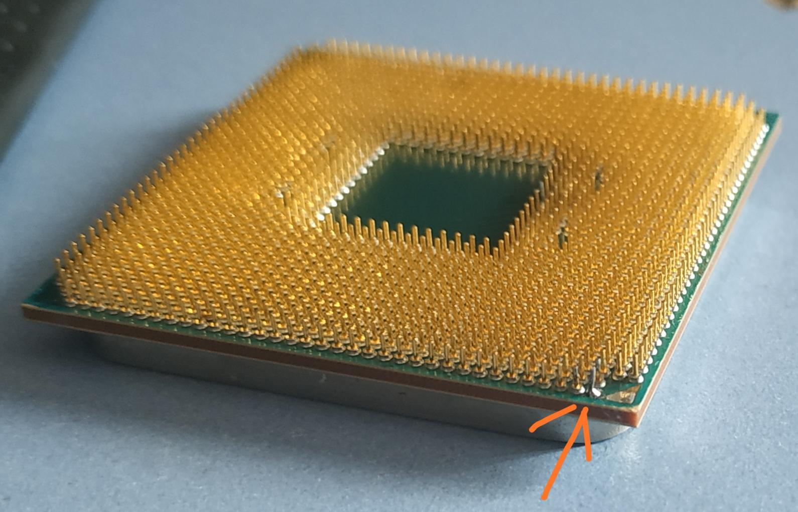 Solved Missing Pin Ryzen Tom S Hardware Forum
