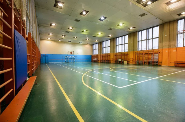 нормы освещения в спортзале