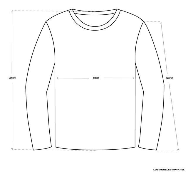Size-Chart-Crewneck-LAA