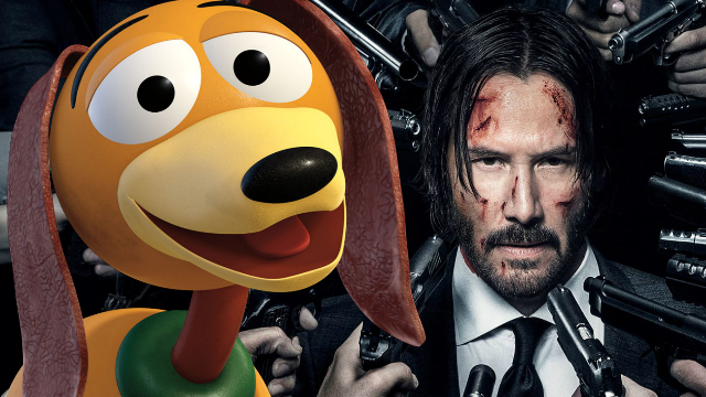 This Hilarious Fan-Made TOY STORY 4 Poster Teases JOHN WICK Star Keanu Reevesu0026#39; Involvement