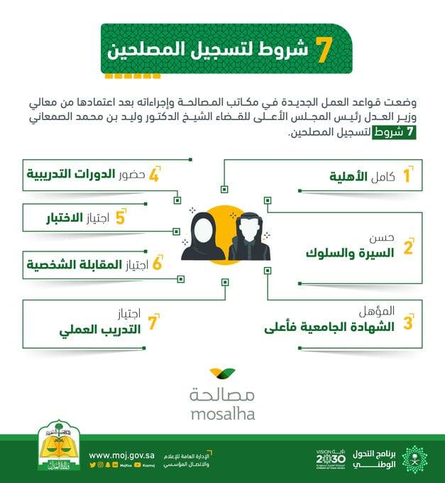 شروط مصلحين وزارة العدل - وظائف وزارة العدل