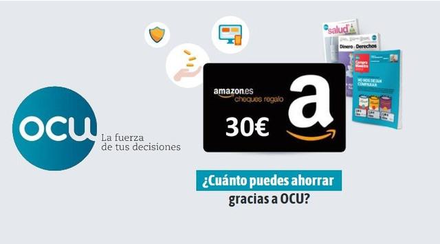 4e2ec3558 CHOLLO] 30 euros en Amazon al hacerte socio de la OCU (sin ...