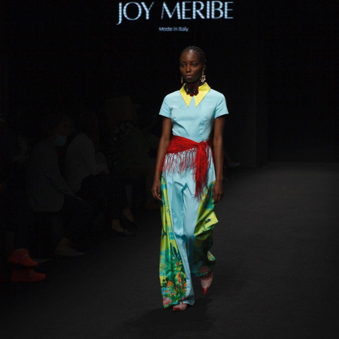 """Joy Meribe, il suo """"afropolitan chic"""" colora Milano"""