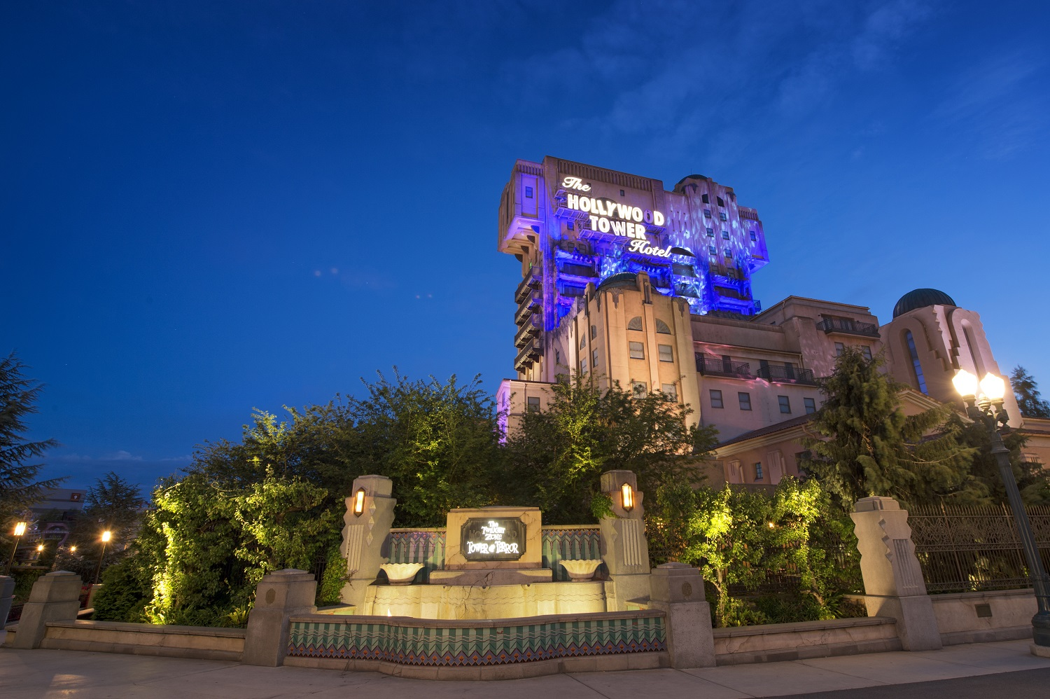 Twilight Zone Tower of Terror at Disneyland Paris
