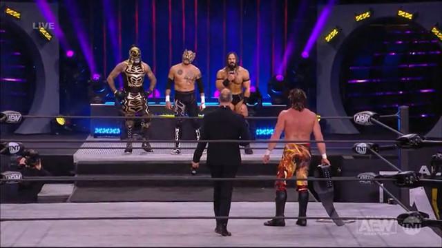 Rey Fénix vs Kenny Omega por el Campeonato de AEW