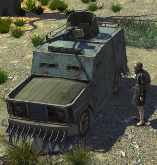 UAZ Shushpanzer / УАЗ Шушпанцер