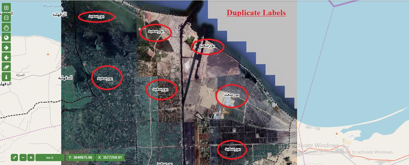 Duplicate Labels