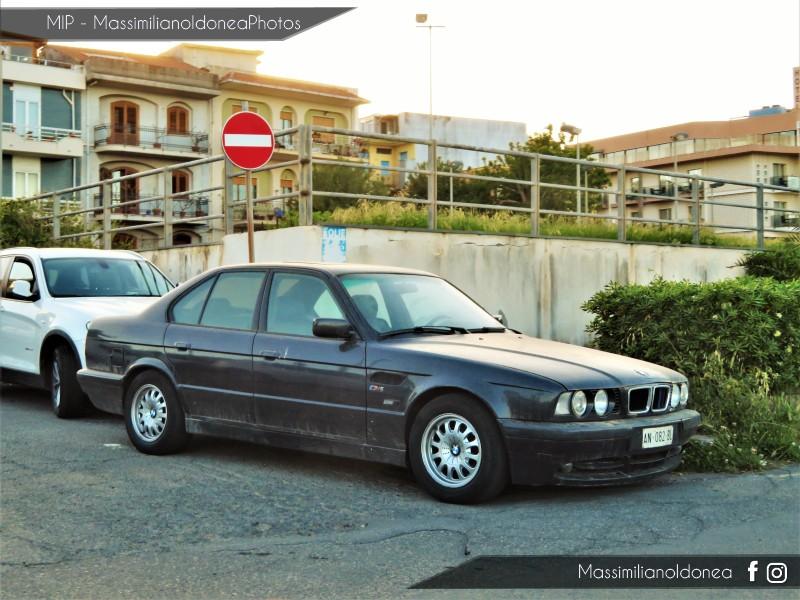 avvistamenti auto storiche - Pagina 19 Bmw-E34-520i-2-0-150cv-AN082-BL-70-250-18-3-2019