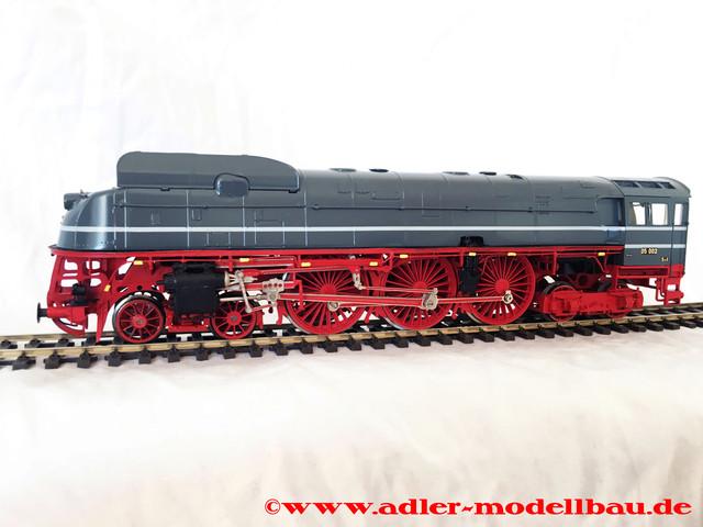 Adler-Modellbau-BR-05-teilentstromt-teilentkleidet-1