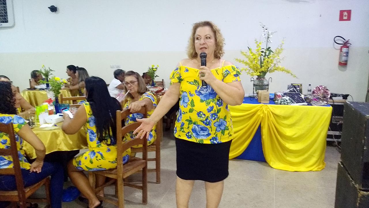 Sirlei Melo, uma das principais organizadoras do evento