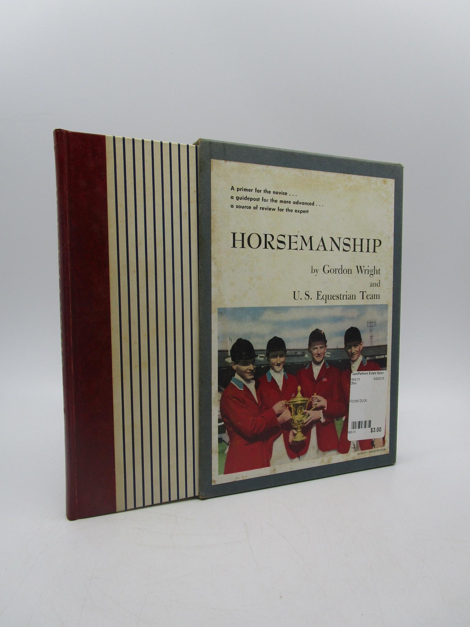 Image for Horsemanship (Signed)