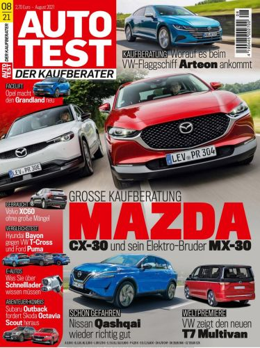 Cover: Autotest Kaufberater No 08 2021