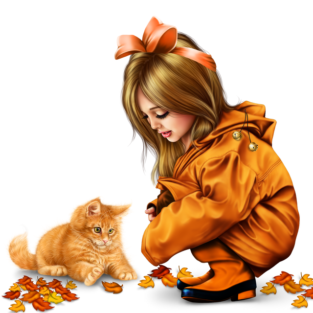 little girl in raincoat with a kitty png 29b35cfbe2254ac461.png