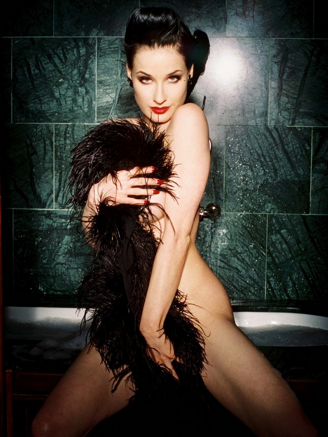 Dita Von Teese by Christophe Mourthe