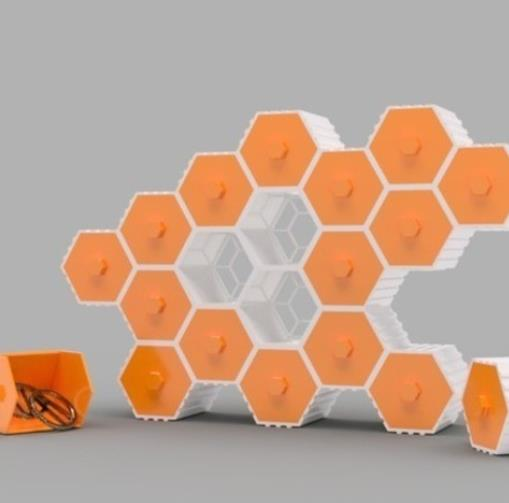 Stackable Hex Drawers - Cool Things to 3D Print