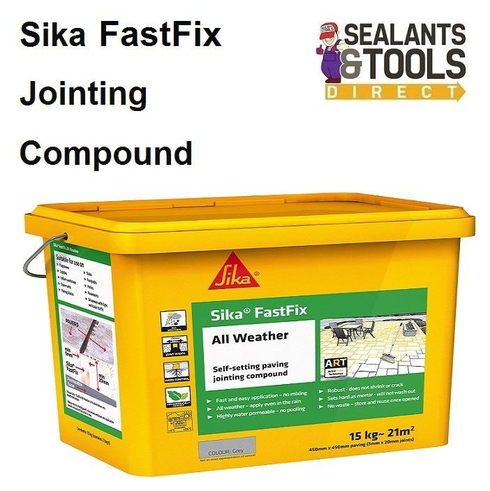 Sika-Fast-Fix-All-Weather-Grey-SKFFIXGY14-Buff-SKFFIXBF15-FASTFIX