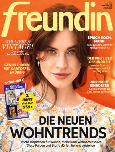 Cover: Freundin Frauenmagazin No 19 vom 25  August 2021