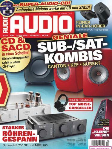 Cover: Audio Magazin Oktober No 10 2021