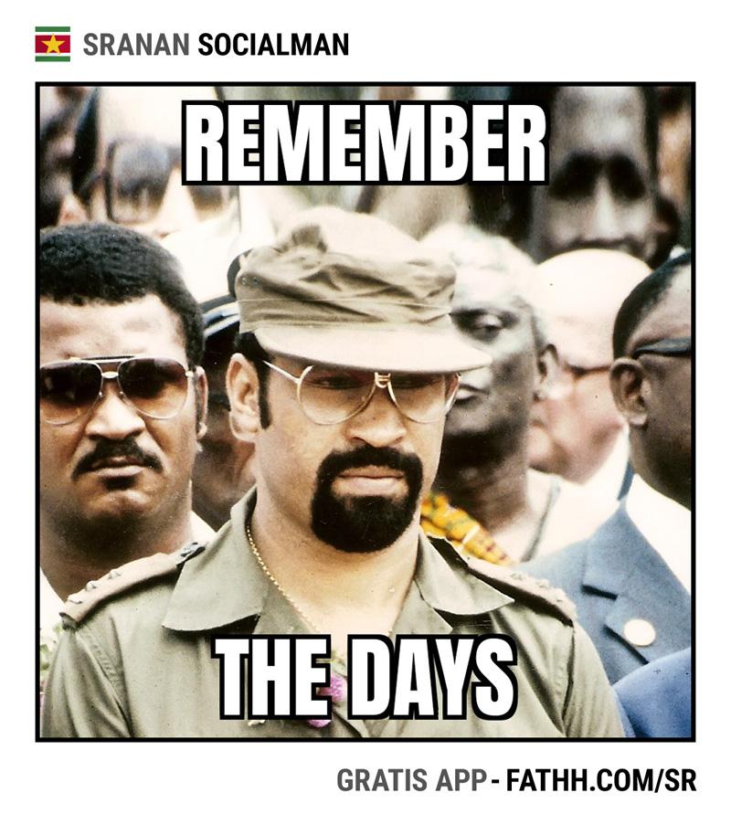 Sranan Socialman : Remember the days