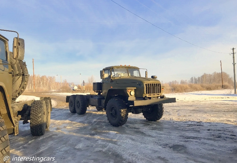"""Урал-432007-30 пока еще """"головастики"""""""