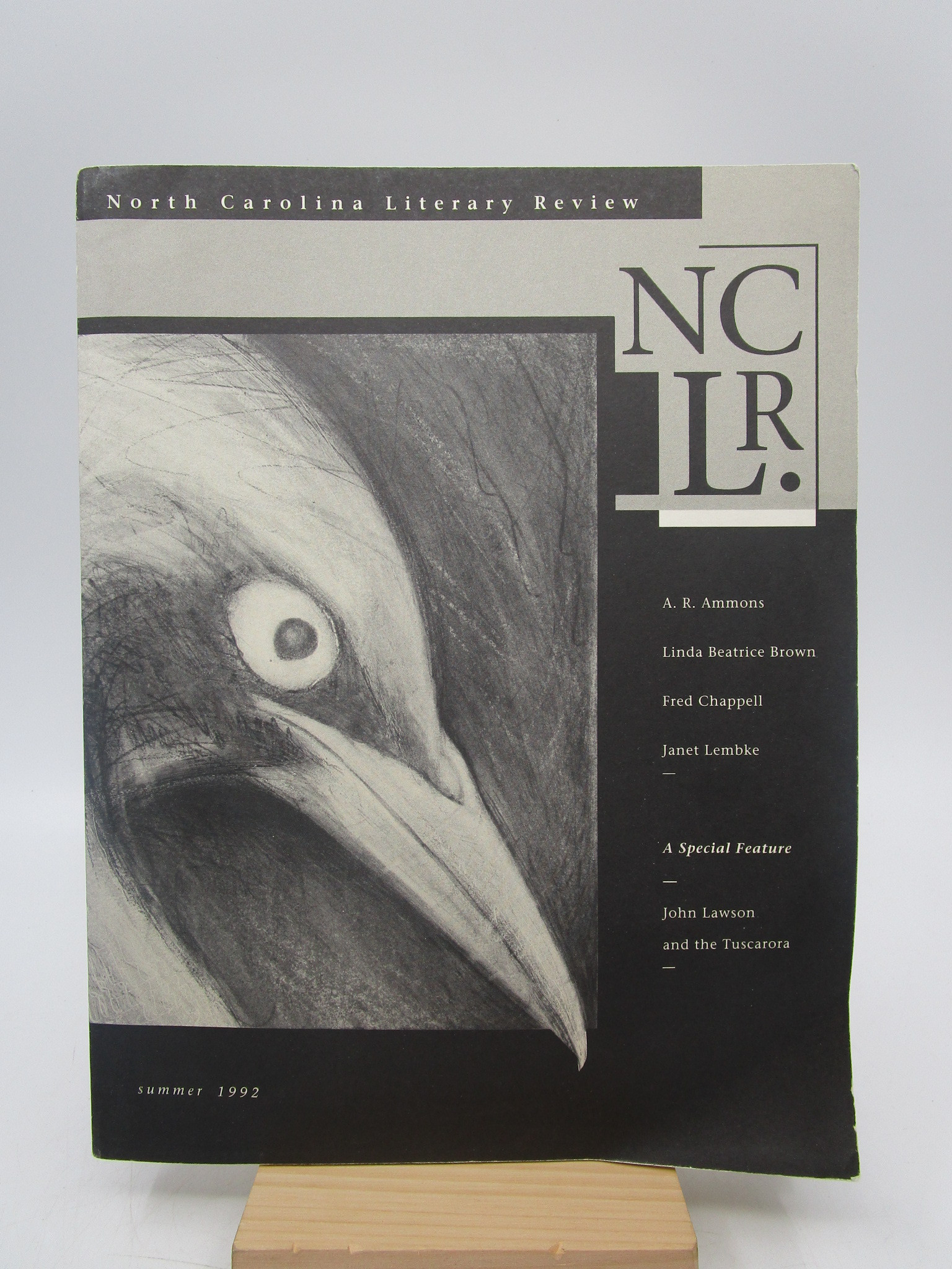 Image for North Carolina Literary Review, Volume I, Number I